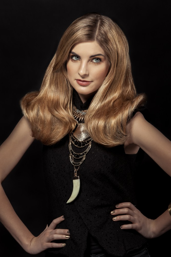 Gloden Blonde - Hairstyling & Make Up by Jaime Leigh McIntosh